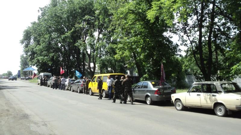 Учасники автопробігу афганців ТРК Сігма