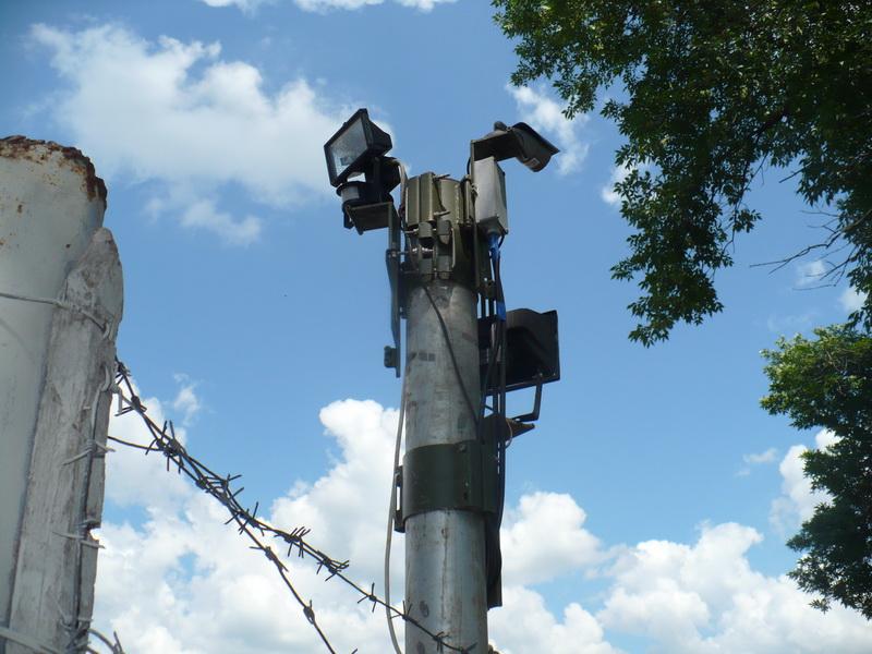 Прожектори і відеоспостереження на 61 арсеналі