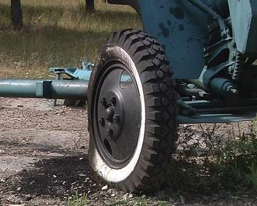 Вандали спалили колесо історичної гармати у парку