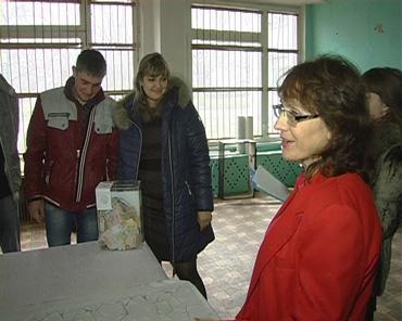 Збір грошей для Жемчужинок, ТРК Сігма