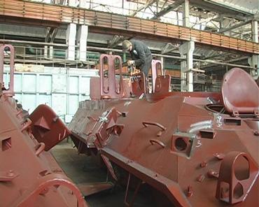 Виробництво корпусу БТР на ЛКМЗ, ТРК Сігма