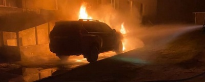 На Рівненщині горіла автівка депутата: у поліції підтвердили підпал
