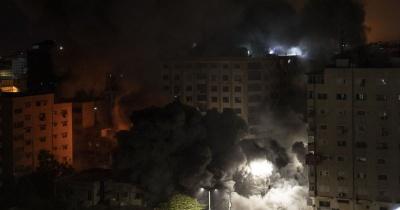 Ізраїль обстріляв багатоповерхівку в Секторі Гази, де були офіси світових ЗМІ