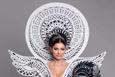 Сукня, вагою 7 кілограмів: опубліковано фото дивовижної сукні, у якій українка вийде на конкурс «Міс Всесвіт»